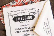 wedding invite inspiration / inspiration for designing some wedding invites for friends and family