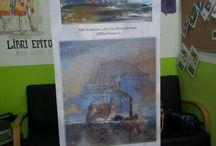 Mar de letras en la biblioteca / La exposición en el Centro de Adultos de Cáceres