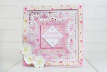 A Little Bit Ditsy Collection / Here you can find some card samples using the A Little Bit Ditsy Collection. For more information visit www.tatteredlace.co.uk / by Tattered Lace®