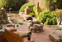 HGTV Outdoor Spaces / Create a beautiful outdoor space with expert tips on hardscaping, plants, water features and furniture.   / by HGTV