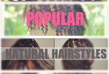 Loving our natural hair  / by LaShenda Clark