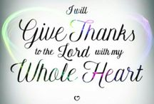 Thanks to the lord