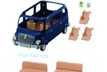 Sylvanian Families Rodzinny Siedmioosobowy Minivan / Wyjątkowe zabawki dla dzieci marki Sylvanian Families