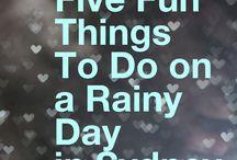 Sydney - Rainy Day Things To Do