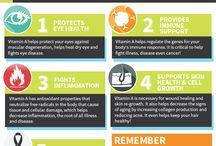 Vitamins Benefits / by Shauna Yee