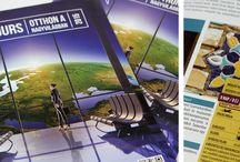 MSE Tours / grafikai tervezés és kivitelezés