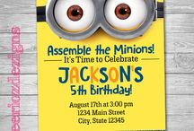 Minion Birthday Invitations