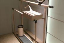 štendry, toaletky