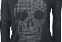 I love Skull / Amooo td que é relacionado a caveiras, calaveras, las catrinas e afins...