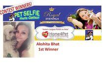 Pet Selfie Photo Contest 2016 from Home4pet.com / Pet Selfie Photo Contest 2016 from Home4pet.com held on 2nd Sept, 16.