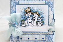 LOTV - Christmas Santa and Snowmen