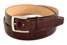 Men's belts, product made in Italy