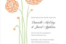 Spring Wedding Inspiration / Planning a spring wedding? Get inspired with printable invites, decorations, DIY ideas & more!