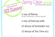Laundry & Cleaning / Clean, stain free clothes and a clean fresh home!