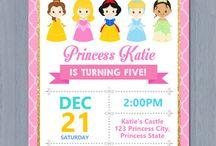 Disney princess bday