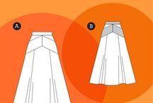 Sewing Inspiration - Maxi Skirts
