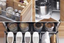 oppbevaring kjøkken