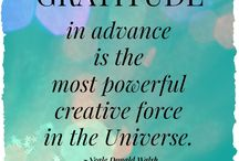Gratitude/Grateful