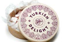 Turkish delights oldfashion style / Turkish delight in oldfashioned style