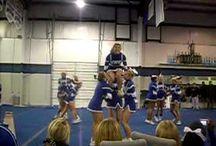 Cheerleading  / by Nicole Cox