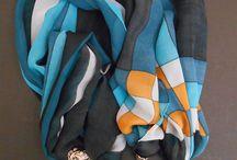 Gioielli foulard / Realizzati a mano