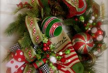 christmas wreaths / by Sherry Runge