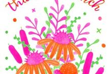 Randi Zafman/Florals / Illustration/Design for Hire & License