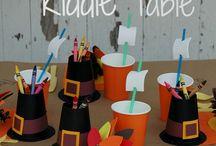 Thanksgiving-Kids Crafts