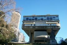 Bibliotecas Nacionales Latinoamericanas / Fachada de las Bibliotecas Nacionales Latinoamericanas