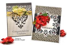 Spellbinders Dies - cards and  DIY Projects / all projects, cards, DIY, altered items, home decor using Spellbinders dies.