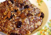 Breakfast - voedselzandloper / food hour glass / Amazing breakfast recipes with * no * grains // cow dairy // sugar // potatoes. With * lots * of oatmeal // fruit // quinoa // veggies.