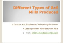 Different types of Ball Mills produces