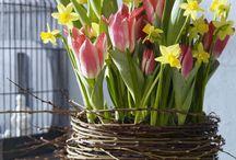 Frühlings deko