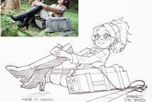 Pencil Sketchs