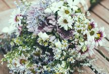 Bridal flower and decorations / flower