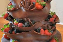gemodeleerde chocolade (taarten)