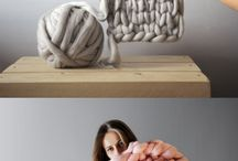 Knitting and art