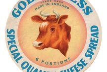 Etiquettes de fromage
