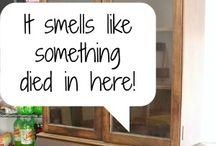 Lukt i gamle møbler