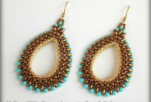 All Weave a Bead 2 / Jewelry beading tutorials and patterns / by Christina De Barros