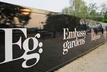 Display Graphics | Embassy Gardens / For more examples of work please visit www.octink.com
