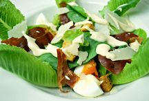 Our Salads / Check out our delicious selection of salads, here at Jenna's Bistro & Wine in Aonang.