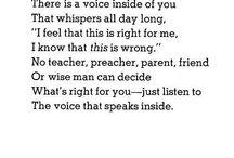 words of wisdom / by Marjorie Rossiter