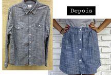 Customização de roupas