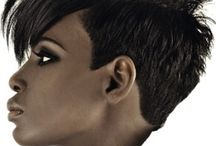 Femme Mohawk / Haircuts