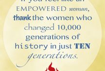 10,000 Generations / Thoughts on the Advancents Made by Women over the Last 10,000 Generations