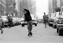 skateboarding or die. / skateboarding with attitude