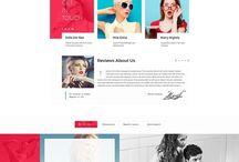 Digital - Websites / An amalgamation of website design, UI design and Newsletters