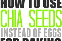 Chia seeds instead of eggs