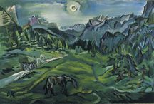 Painting. Oskar Kokoschka